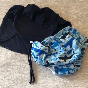 🦈 Swim Trunks/Hat